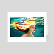 Water Art - Art Card by Mang Bo