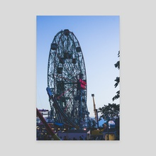 Wonder Wheel - Canvas by Mark Mis