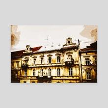 Vintage Lviv - Canvas by Nazar Hrabovyi