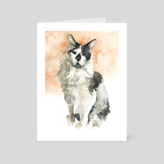 cat#16 by Rafał Wnęk