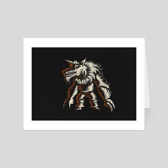 Halloween wolf by Viktor Sukhochev