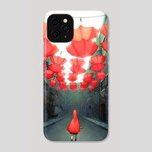Little Lost Redcap - Phone Case by Joy Ang