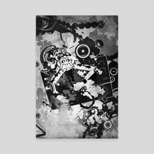 TV Monkey-2 - Canvas by wudufu