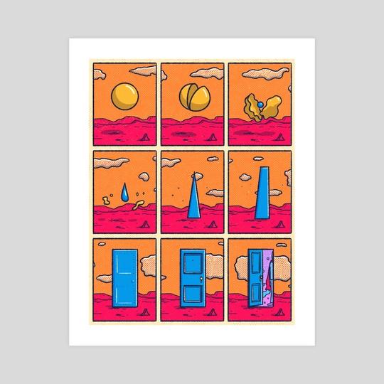 Dimensional Door by Laurent Hrybyk