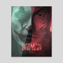 The Batman 2021 Movie Poster - Acrylic by Salar Khan