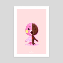 Chocolate Marina - Canvas by Donut