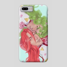 Red and Green - Phone Case by Jacqueline Leon