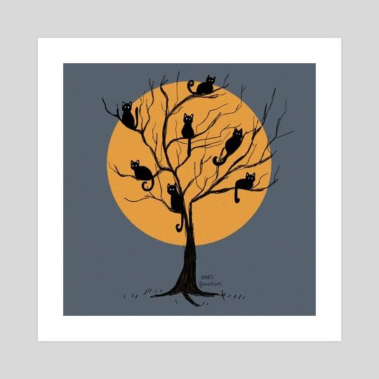 cat tree by martisun