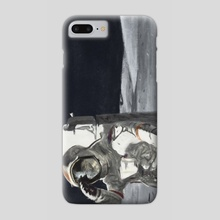 Neil Armstrong (Study) - Phone Case by Josue Ledesma