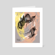 Sunrise - Art Card by Anna Tsvell