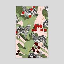 Zebra Harem - Canvas by 83 Oranges