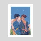 scenery - Art Print by ada
