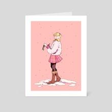 KH3 Seasonal Fashion - Namine - Art Card by Shazleen Khan
