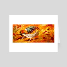 Walk With Me - Art Card by birds