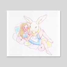 Alice - Acrylic by Sasha H.
