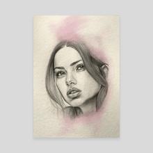 Adriana - Canvas by  Ele Lib