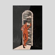Portal - Acrylic by Evangeline Gallagher
