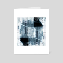 Architectural Symmetry Series No. 5 - Art Card by Adam Fakult