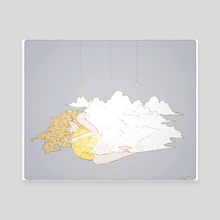 cloud cover. - Canvas by vi
