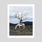 Treehair - Art Print by Gabriel Avram