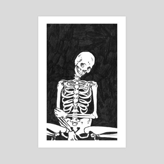 frail: inktober 2019/8 by Veronika Gorbatenko