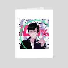 Mob | Mob Psycho 100 - Art Card by Brave Ghost
