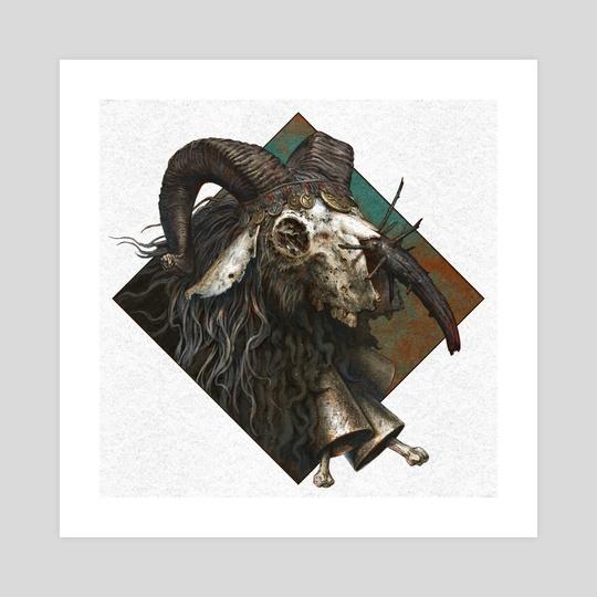 Goat Witch by Konstantin Kostadinov