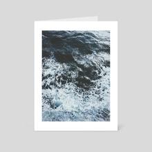 voyage - Art Card by Paulina J. Kozłowska