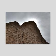 Chimney Bluffs - Canvas by Gliz Caldo