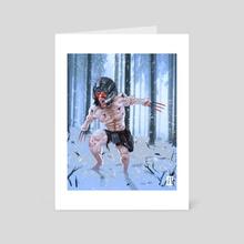 Weapon X - Art Card by Jackson Caspersz