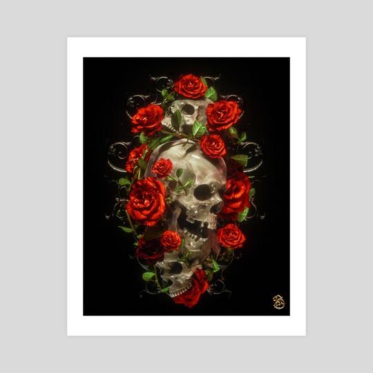 Tattoo Death III by Billelis