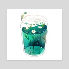 summer soda. - Canvas by vi