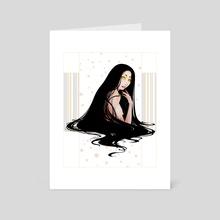 Ink - Art Card by M.Veronica Silva