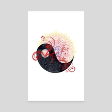 Mandala - Yang - Canvas by Alexandre Ibáñez