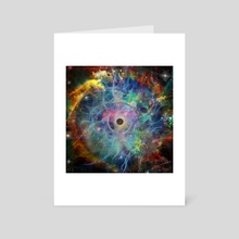 The Eye of Time - Art Card by Bruce Rolff