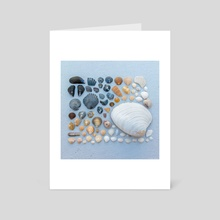 Sally Sells Sea Shells and I bought 'em - Art Card by Alex Tonetti