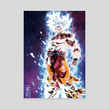 Goku Mastered Ultra Instinct - Canvas by CHYTWO ART