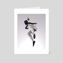 Dance King - Art Card by POP TOY POP