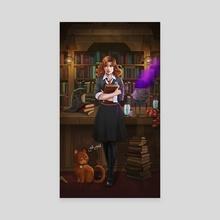 Hermione granger - Canvas by Jake Bartok