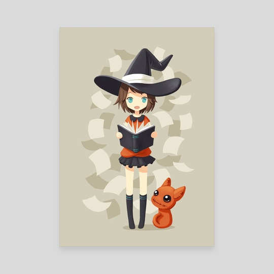 Little Witch 2 by Indré Bankauskaité