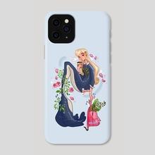 School Mermaid - Phone Case by Hyemin Yoo