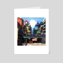Hideaway - Art Card by Kenze Wee / Seppuku_Doge