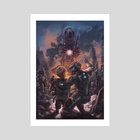 The Last Son of Earth - Art Print by Arthur Bowling