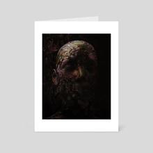 Hallucinated Reality. - Art Card by Mikko Raima