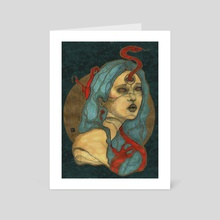 The Goddess III - Art Card by Yolanda Coch