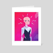 spidergwen - Art Card by hotaru jaejae