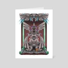 Seeker of the Ideals - Art Card by Nicole Castanheira