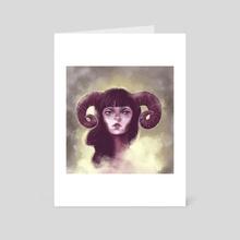 Aries - Art Card by Julia Gingras