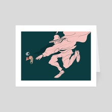 Falling (Shape of Things) - Art Card by Dirty Robot
