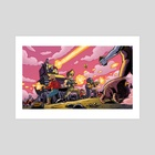 OMEGA STRIKE - Art Print by Jason Piperberg